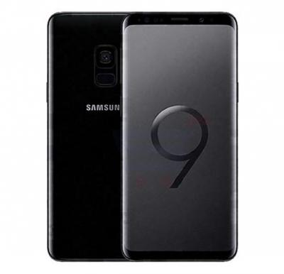 Samsung Galaxy S9 4G Smartphone, 5.8 inch Display, Android, 4 GB RAM, 64 GB Storage, Dual SIM, Dual Camera - Midnight Black