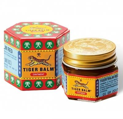Tiger Balm Red 19.4gm, Pain Relieving Ointment