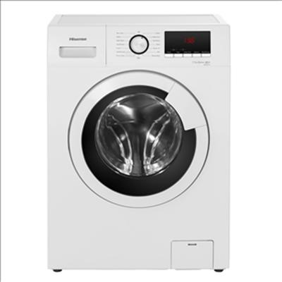 Hisense 8 Kg 1400 RPM Front Load Washing Machine, White - WFKV8014