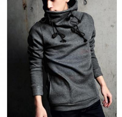 Mens Designer Turtle Hood Grey - 4469 - L