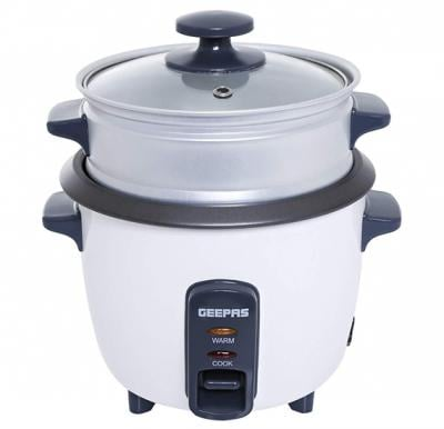 Geepas Electric Rice Cooker and Warmer 0.6 Litre, GRC4324