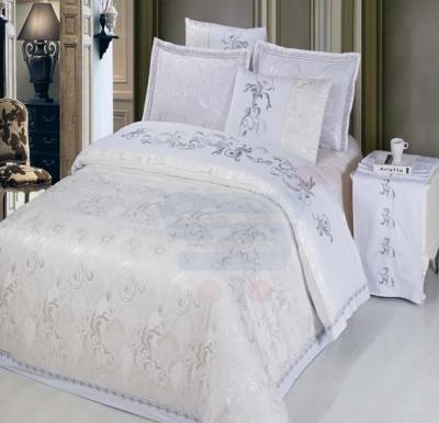 Senoures 100% Cotton Jacquard Quilt Cover 6Pcs Set King - SEJ-050