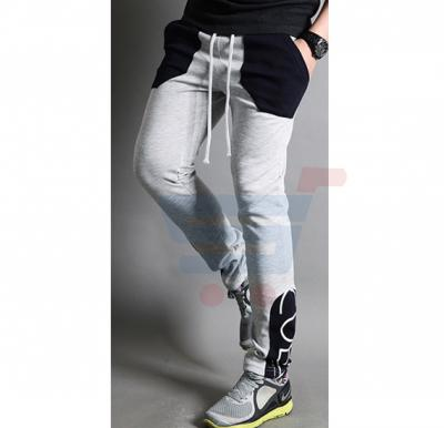 Mens CUBA Sporty Designer Trouser Grey - 1853 - L