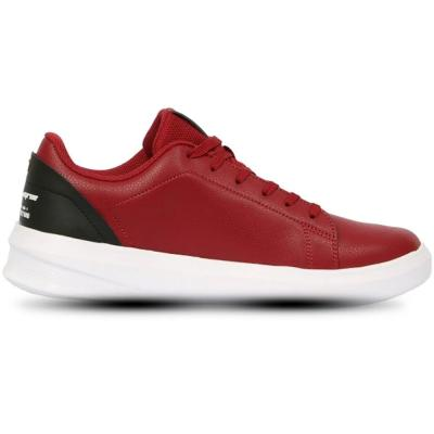 361 Degrees Skateboarding men Synthetic leather Sneakers Red