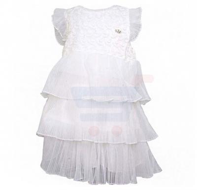 Amigo 7  Children Dress  White - 6-9M - 1252