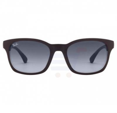 Ray-Ban Wayfarer Black Frame & Blue Gradient Mirrored Sunglasses For Unisex - 0RB4197l-601-8G