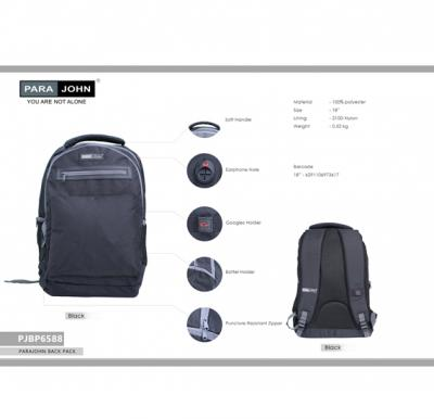 Parajohn Back Pack  Bags 18 Inch (25), PJBP6588