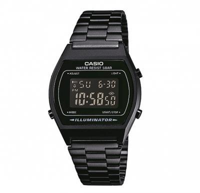 Casio Standerd Model Black Stainless Steel B-640WB-1BDF