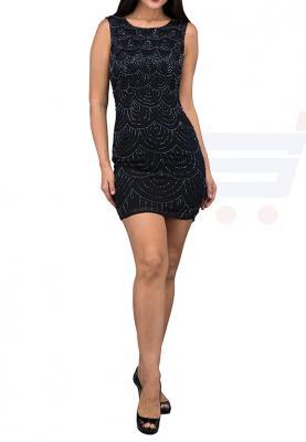TFNC London  Kathlyn Party Dress Black - ANQ 40970 - L