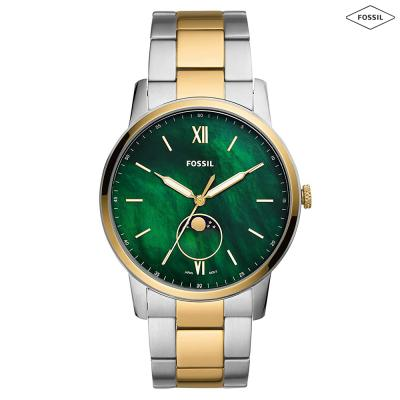 Fossil Analog Mother of Pearl Dial Mens Watch, FS5572