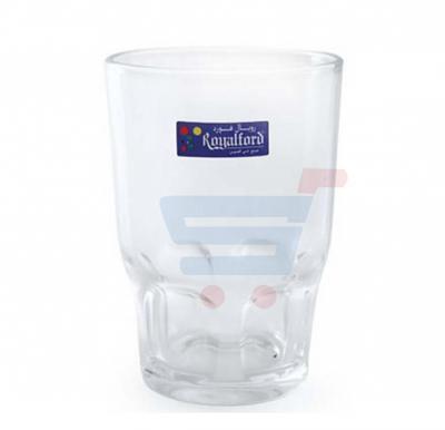RoyalFord Glass Tumbler 6 Piece RF1096 GT6,