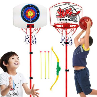2 in 1 Kids Basket ball Plus Archery Set