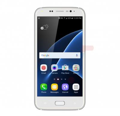 S-COLOR S7 Pro 4G LTE Smartphone,Android,6.0 inch HD Display,3GB RAM,32GB Storage,Dual SIM,Dual Camera,Octa Core 2.0GHz Processor,WiFi,BT-Silver