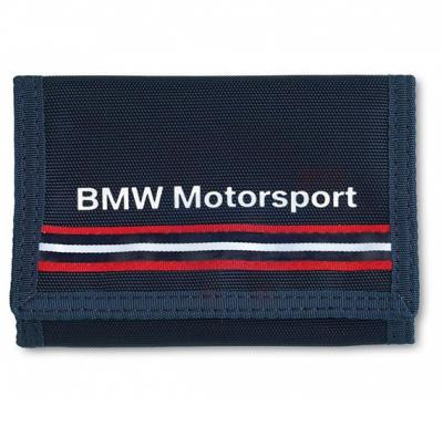 BMW Velcrow Wallet Blue MotorSport