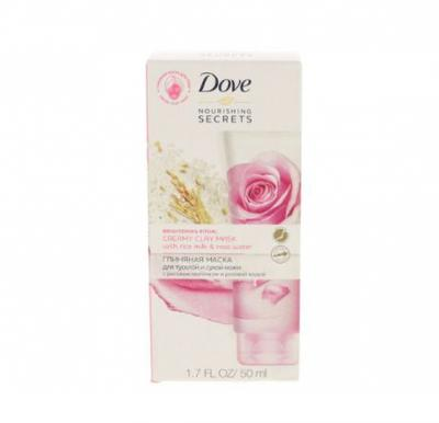Dove Nourishing Secrets Creamy Clay Mask With Rice Milk And Rose Water 50ml