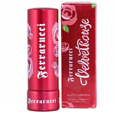 Ferrarucci Velvet Rouge Lipstick 3.8g, Fiesta Orange