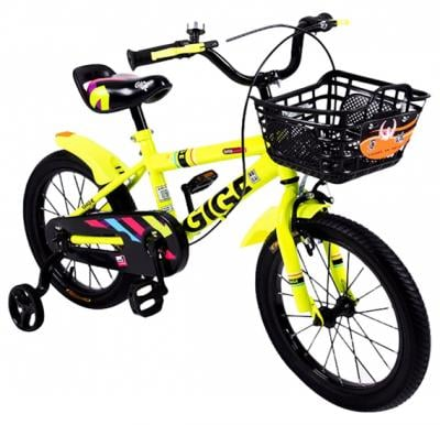 Desert Star Gige-16-Yellow Kids Bicycle ,16 Inch Wheels For Boys And Girls