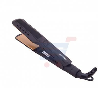 Sonashi Hair Straightener Digital Led Display 10 Level Temperature Setting Dry And Wet Function SHS-2055
