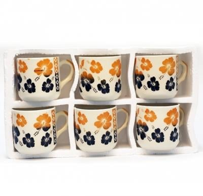 Coffee Cups Sets OSP010 Assorted Color, 6 Pcs