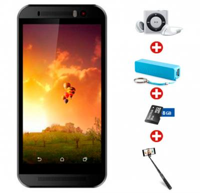 Bundle Offer ! Buy Orro M9 Smart Phone, 3G, Android 5.1 Lollipop, Dual-core 1.2 GHz, 8 GB Storage, 1GB RAM, Dual Camera, Dual SIM, Wifi and Get MP3 Player, Power Bank, Sandisk 8gb Memory Card ,Selfie Stick Free!