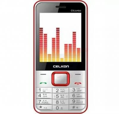 Celkon C9 Mobile Phone, 2.4 Inch Display, 32MB Storage,FM Radio, Bluetooth, Camera - White
