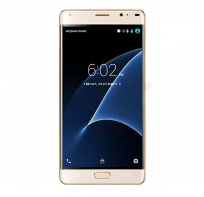 X-BO Super 10 4G  Smartphone, Android OS, 6.0 Inch Display, 2GB RAM, 32GB Storage, Dual SIM, Dual Camera, Dual Flash, Quad Core 1.5GHz Processor- Gold