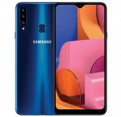 Samsung Galaxy A20s Dual SIM 3GB RAM 32GB 4G LTE, Blue