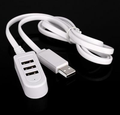 Ultra Speed 3 Port 2.0 USB Data Transmit & Charging 1 meter Cable