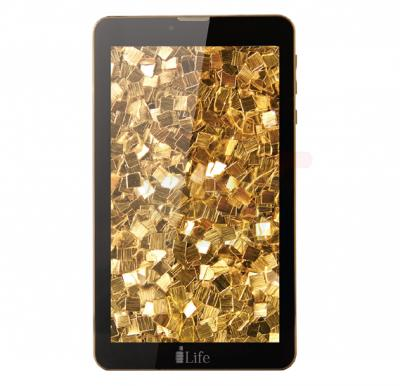 i-life ITELL K4700G Tablet, 7 Inch Display, 1GB RAM, 16GB Storage, Dual Camera, Dual SIM, 4G, Android OS - Gold