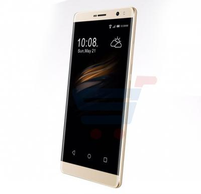 Mione R10 Smartphone 4G, Android OS, 6.0 Inch IPS HD Display, 3GB RAM, 32GB Storage, Dual Camera, Dual Sim- Gold
