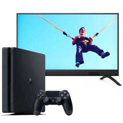 2 in 1 Combo offer Philips Full Hd Smart Tv 40Inch, 40PFT5883 With Sony PlayStation 4 Slim 1TB