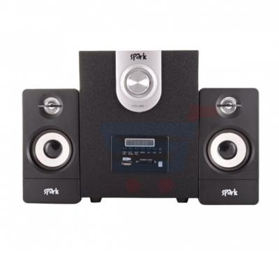 Spark 2-in-1 Multimedia Speaker SP-104BL, with Bluetooth and FM Hours Deal