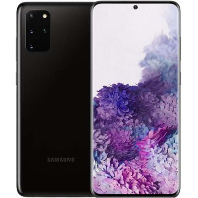 Samsung Galaxy S20 Plus Dual SIM 12GB RAM 128GB 5G, 6.7 Inch, Cosmic Black