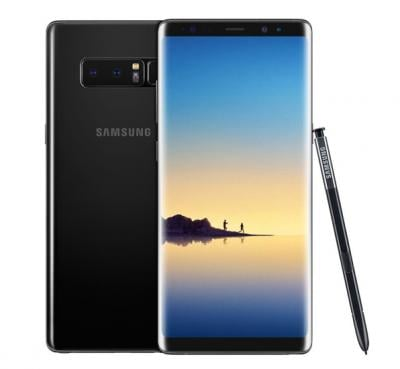 Samsung Galaxy Note 8 6.3 inch Screen 6GB RAM 64GB ROM Midnight Black-Refurbished