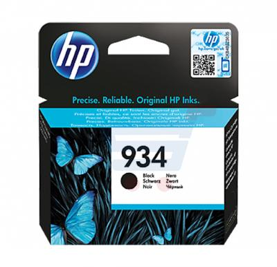 HP Cartridge 934 Black Ink, C2P19AE