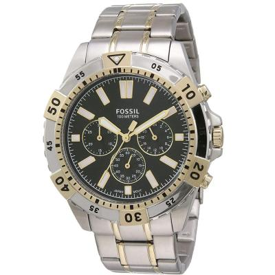 Fossil Analog Green Dial Gents Watch, FS5622