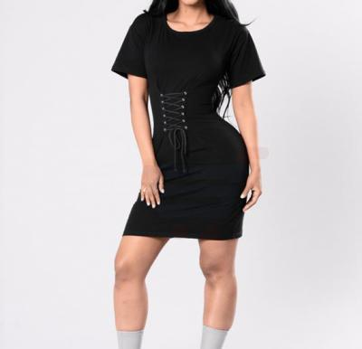 Lakoki Taking It Easy Dress Black - XXL