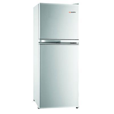 Elekta 138L Double Door De-Frost Refrigerator, Silver, EFR175