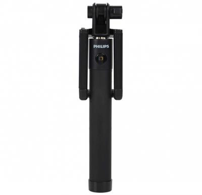 Philips DLK3611NB Wired Selfie Stick (Black)
