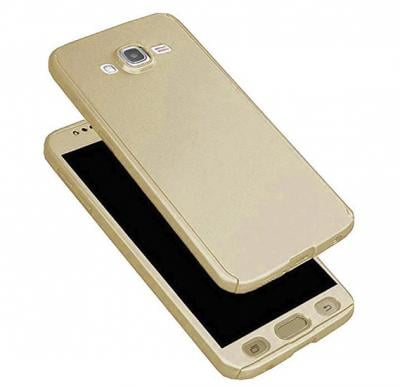 Samsung Compatible 360 degree Protective Case for Samsung J510 Gold