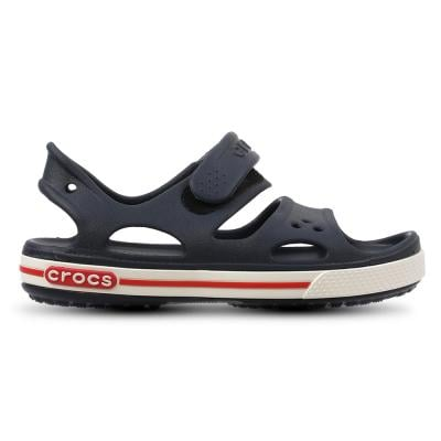 Crocs Kids Clogs Sandals Crocband LI Sandal PS Navy/White