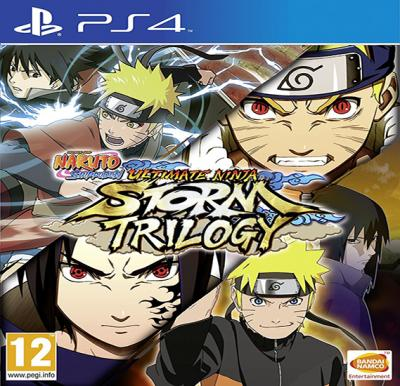 Namco Naruto Shippuden Ultimate Ninja Storm Trilogy For PS4