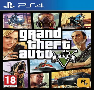 Rockstar Games Grand Theft Auto V For PS4