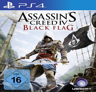 Ubisoft Assassin Creed Black Flag For PS4