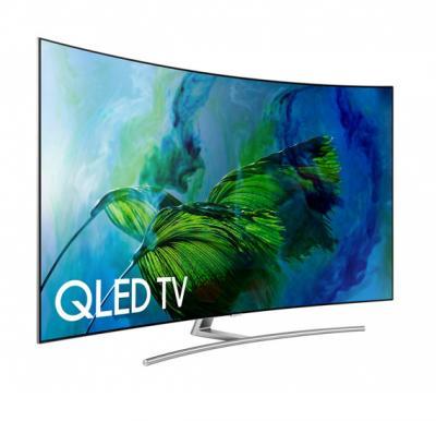 Samsung 65 Inch Class Q8C Curved QLED 4K TV 65Q8CAM