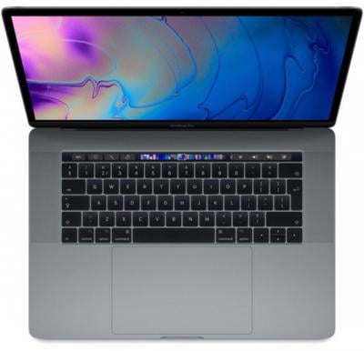 MacBook Pro 15 Touch Bar & Touch ID 2018 – Core i7 2.2GHz 16GB 256GB 4GB 15.4inch Space Grey English, MR932B/A