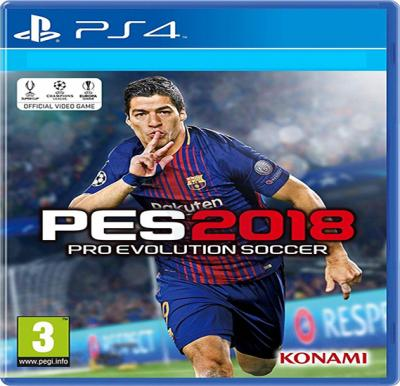 Konami PES 2018  Arabic For PS4