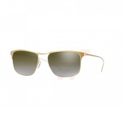 Paul Smith Wayfarer Brushed Gold Frame & Brown Flash Mirrored Sunglasses For Unisex - 0PM4068S-51036U