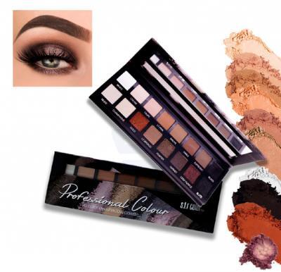 SFR Color Professional Colour 16 Eye Shadow Palette - 6714