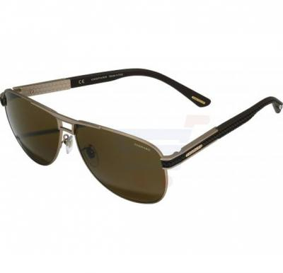 Chopard Pilot Brown Frame & Brown Colour Mirrored Sunglass For Unisex - SCHB80-F86P